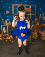 """The Cookie Monster"" Romper"