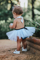 Alice in Wonderland inspired Romper & Apron