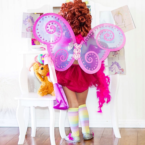 Fancy Nancy Butterfly Wings