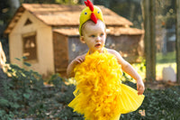 Yellow Chicken Head Band