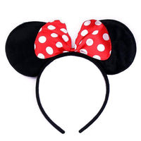 Red Polka Dot Minnie Ears Head Band