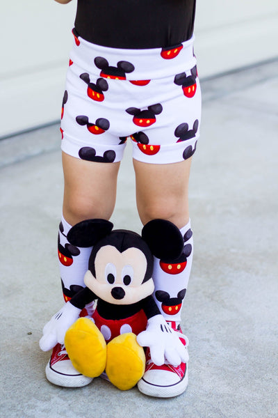 High Waisted Mickey Bummies