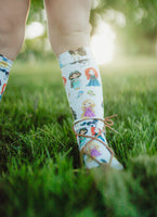 Princess inspired Knee High Socks
