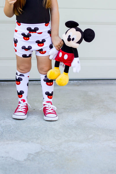 Mickey Knee High Socks