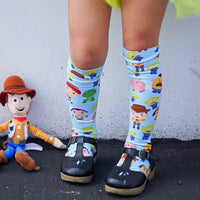 Toy Story Mini inspired Knee High Socks