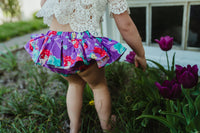 Purple Ariel Bloomer Skirt