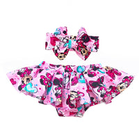 Pink Minnie Bloomer Skirt