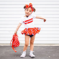 Red Sailor Mickey & Minnie Bloomer Skirt