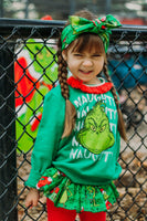 Green GRINCH Bloomer Skirt