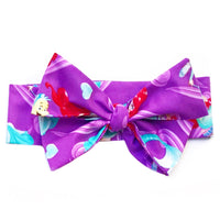 Purple Ariel Head Wrap