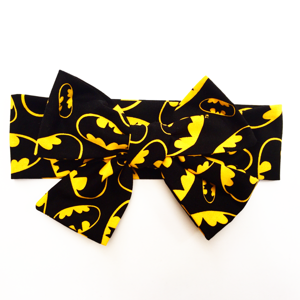 Batman Logo Head Wrap