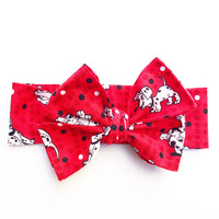 Red 101 Dalmatians Head Wrap