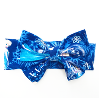 Frozen Blue Elsa Head Wrap