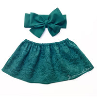 WinterGreen LACE Crop Top