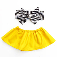 Yellow Canary Crop Top
