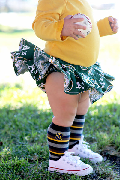 Oakland A's Bloomer Skirt