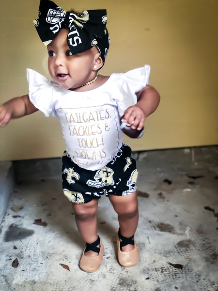 New Orleans Saints Bubble Shorts