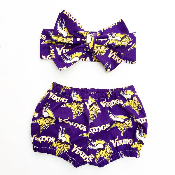 Minnesota Vikings Bubble Shorts
