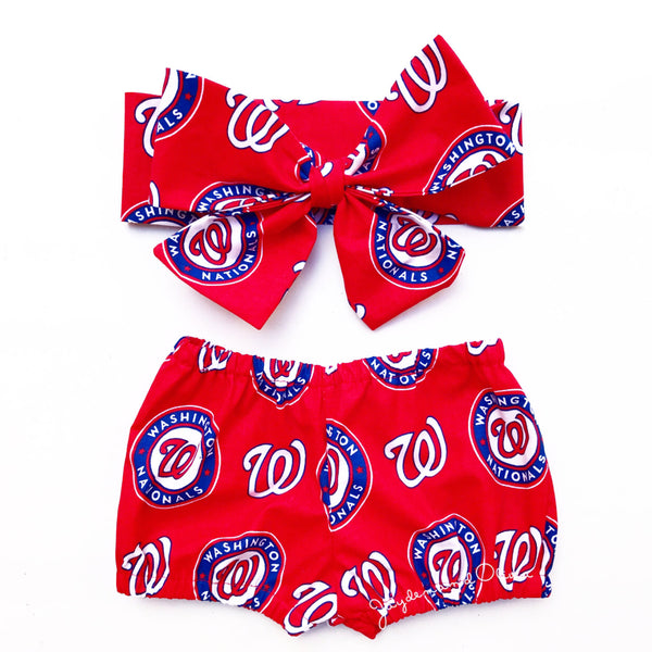 Washington Nationals Bubble Shorts
