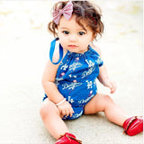 Dodgers Bubble Romper