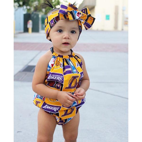 Lakers Bubble Romper