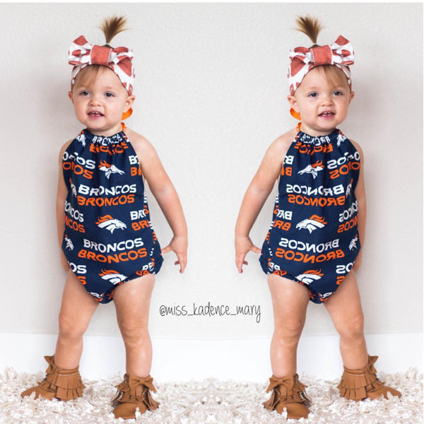 Broncos Bubble Romper