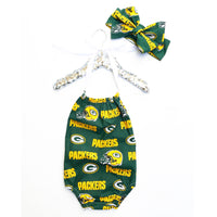 Green Bay Packers Bubble Romper