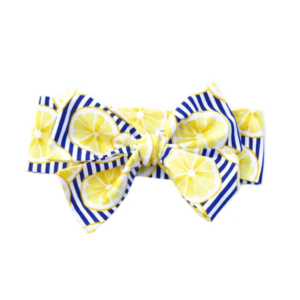 Lemon Stripes Head Wrap