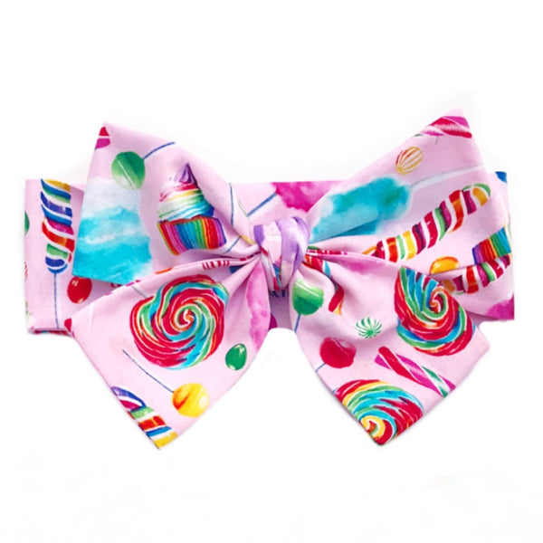 Pink CandyLand Head Wrap