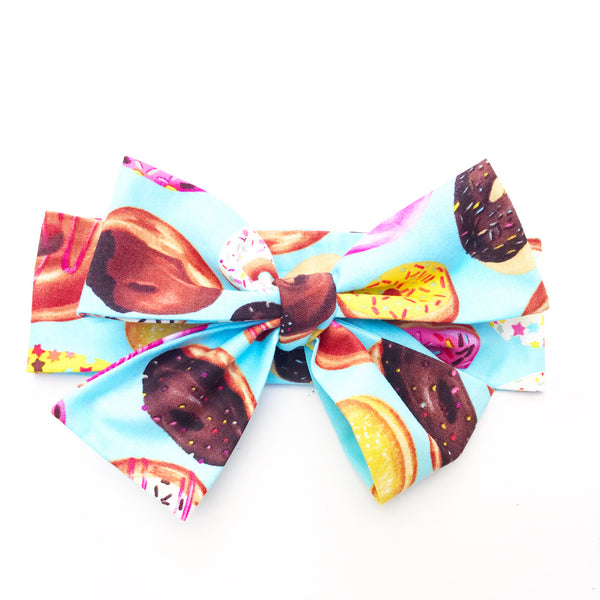 Colorful Donuts Head Wrap