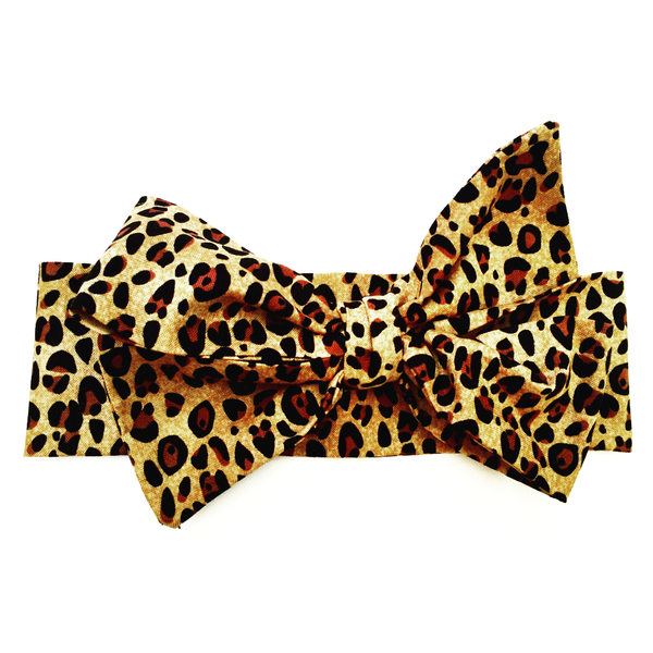 Small Cheetah Print Head Wrap