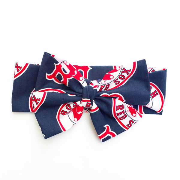 Navy Boston Red Sox Head Wrap