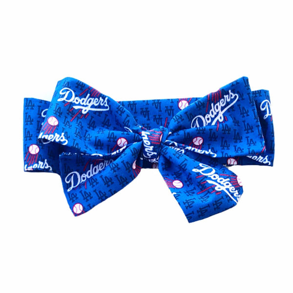 Dodgers Tiny Logo Head Wrap