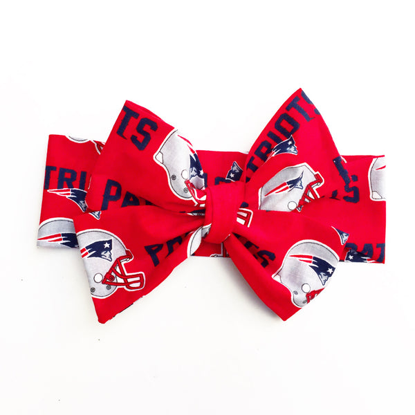 New England Patriots Head Wrap