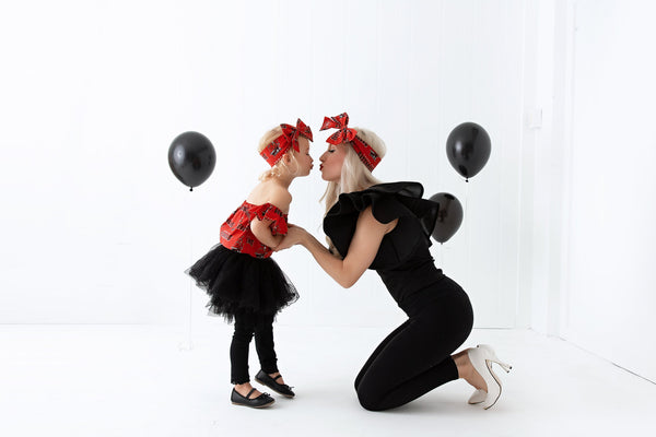 Tampa Bay Buccaneers Mommy & Me Head Wrap SET