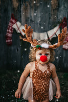 Rudolph the Red Nose Reindeer Romper