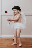 Cupid's Heart VALENTINES Romper