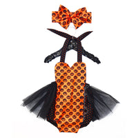 Miss Pumpkin Queen & Tulle Romper