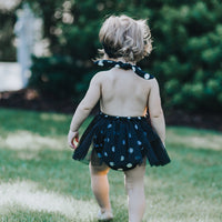 Black Jack & Sally Tulle Romper