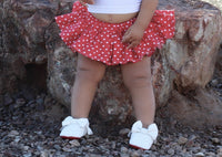 Red Tiny Heart VALENTINES Bloomer Skirt