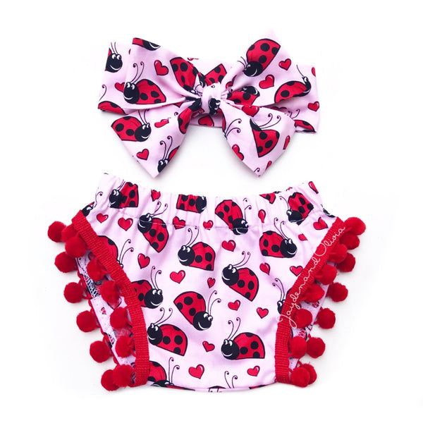 Love BUG Pom Pom Shorties