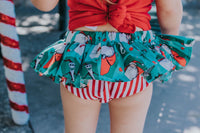 Green NBC Jack & Santa Bloomer Skirt
