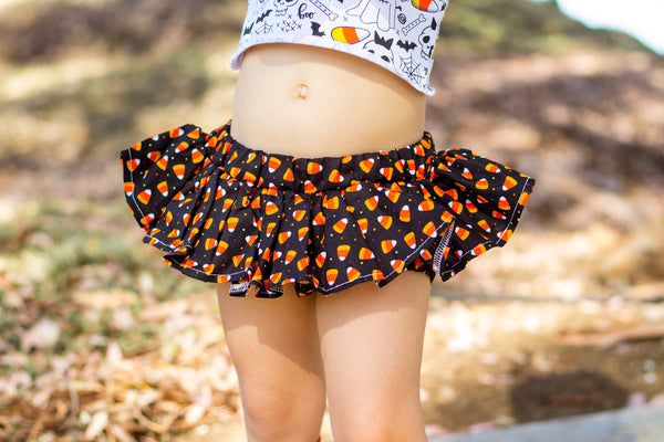 Confetti Candy Corn Bloomer Skirt