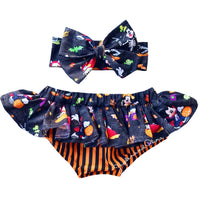 Black Mickey HALLOWEEN Bloomer Skirt