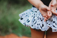 Jack Skellington Stripe Bloomer Skirt