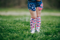 Stars & Stripes Knee High Socks