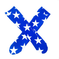 Royal Blue Star Knee High Socks