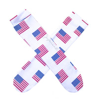 American Flag Knee High Socks