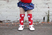 Red Star Knee High Socks