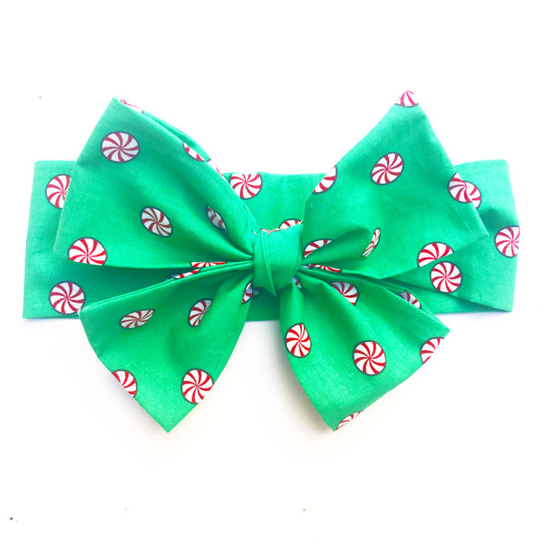 Green Spearmint Head Wrap